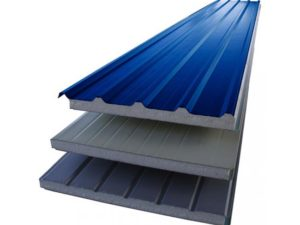 Insulation corrugated iron