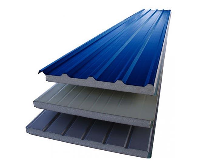 Insulation corrugated iron